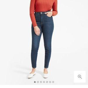 Everlane High Rise Stretch Skinny Jeans